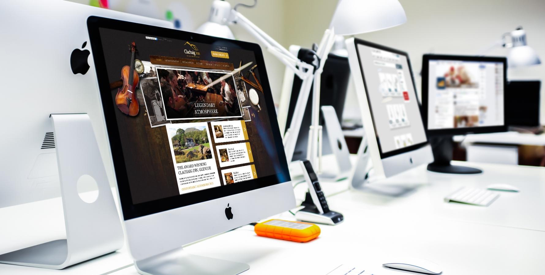 Studio - lamontdesign Design & Marketing Agency - Edinburgh, Aberdeen, Fort William, Scotland
