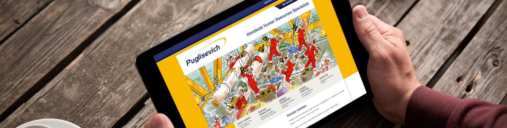 Eesponsive mobile website design - Puglisevich
