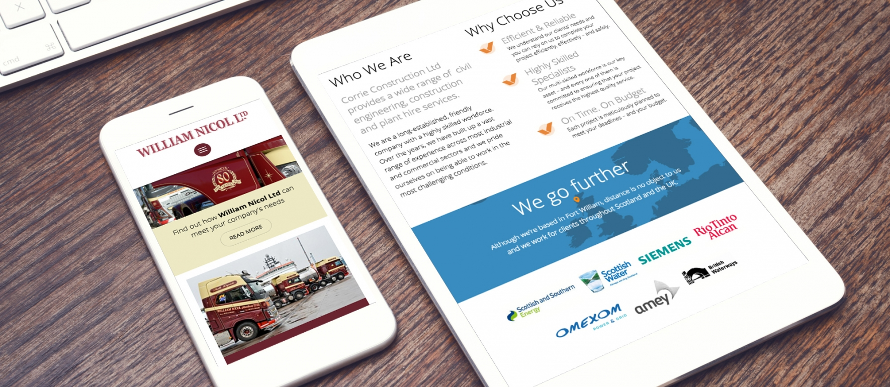 web design marketing agency edinburgh aberdeen fort william
