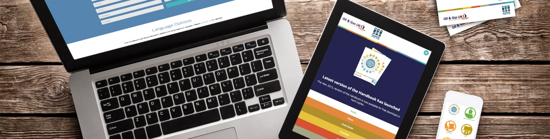Oil & Gas UK Website & Print Design