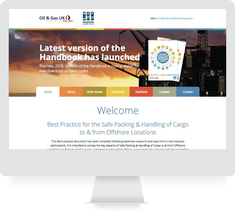 Oil & Gas UK - Responsive Website Design & Brand  - lamontdesign Design Agency