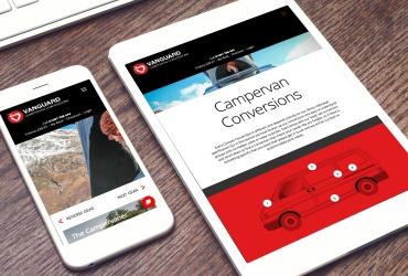 Responsive mobile website design - Vanguard Conversions