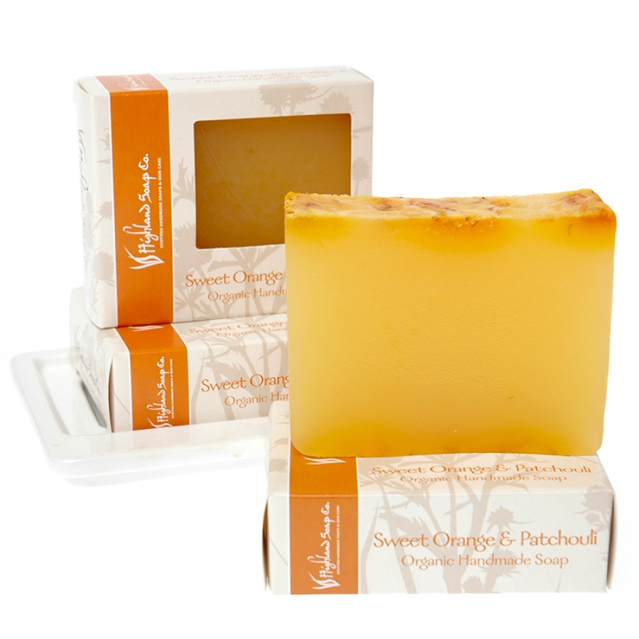 Highland Soap Packaging Design - lamontdesign